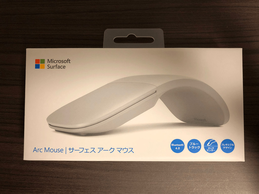 Surface Arc Mouse 箱 正面