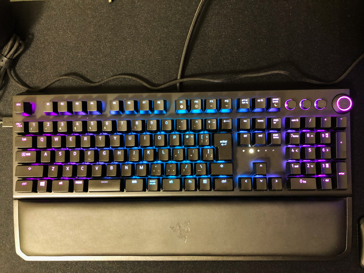 Razer BlackWidow Elite バックライト