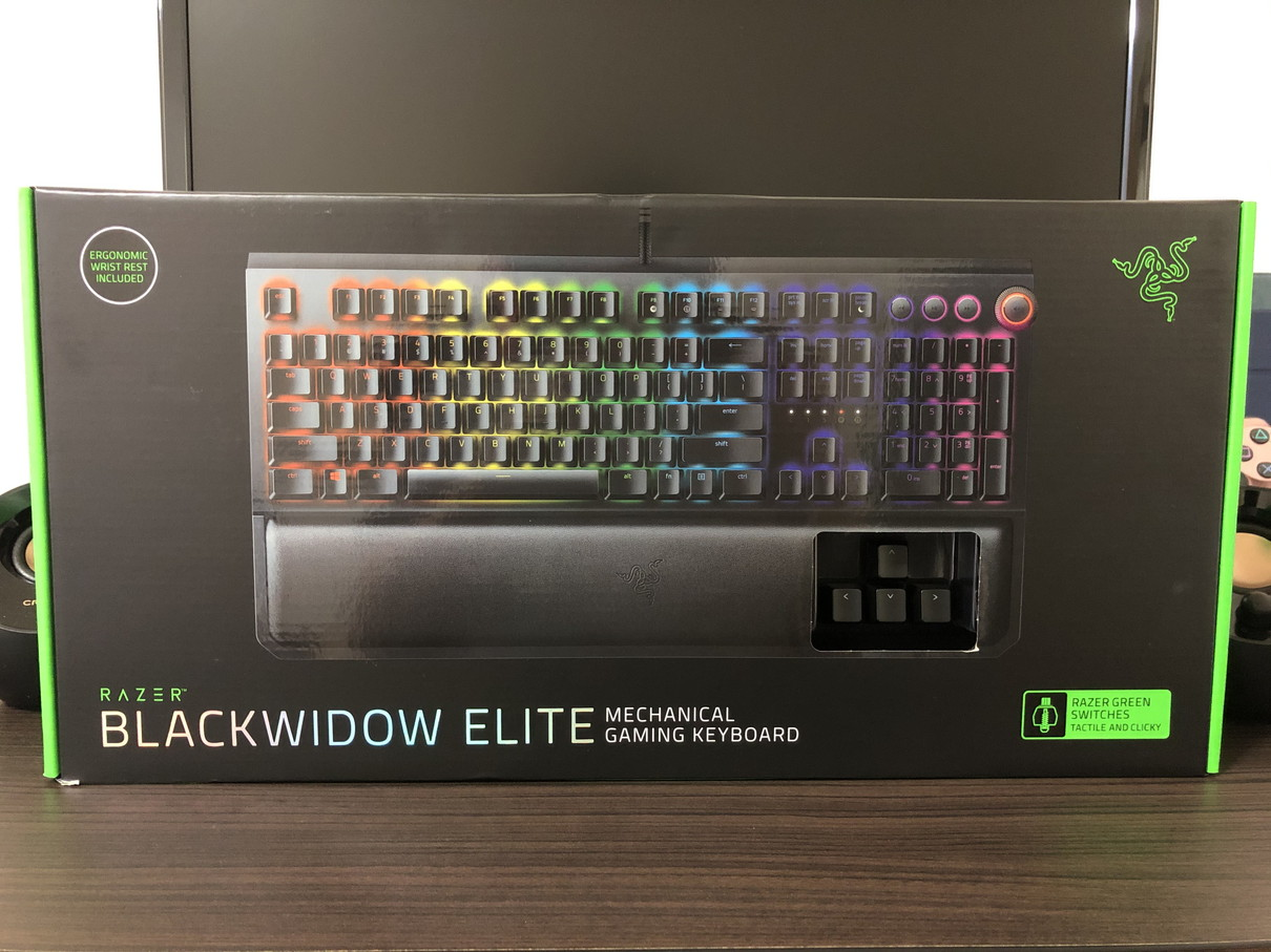 Razer BlackWidow Elite パッケージ002